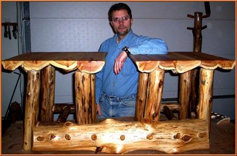 Delicieux Custom Log Design
